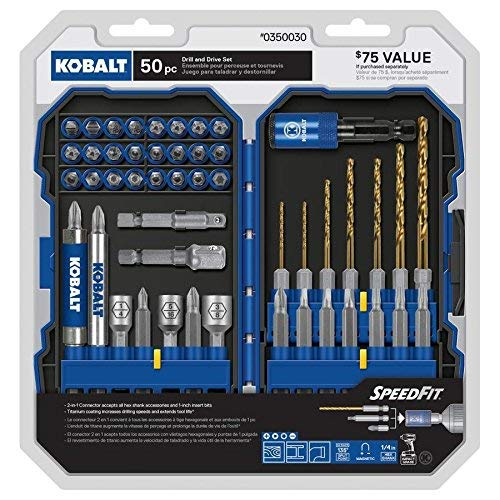 Kobalt 350030 50 pc. Drill and Driver Set