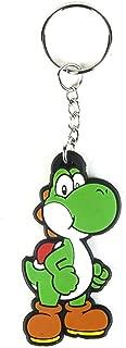 Bioworld Merchandising - Super Mario Bros. Rubber Keychain Yoshi 6 cm