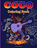 Coco Coloring Book: Coco Movie Special Coloring Books For Adult Colouring