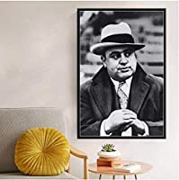 ポスター&プリント、ミラクルポスター、有名人スターペインティングポスター、ホームルームの装飾用のキャンバスの壁の写真をプリントキャンバスにプリント-50X70CMフレームなし