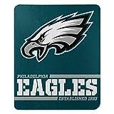 Northwest NFL Philadelphia Eagles 50x60 Fleece Split Wide DesignBlanket, Team Colors, One Size