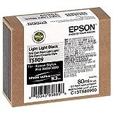 Epson C13T580900 - Cartucho de tinta, color negro claro, Ya disponible en Amazon Dash Replenishment