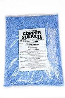 Copper Sulfate Small Crystals 10lb Bag