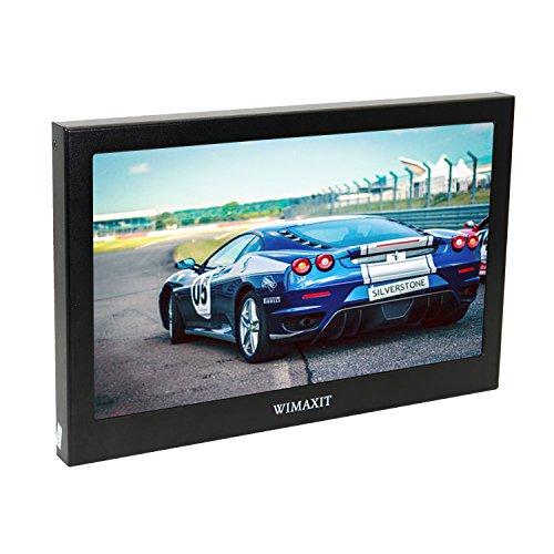 WIMAXIT 11.6 Zoll 1920X1080 FULL HD Tragbarer LCD Bildschirm Monitor VGA / HDMI Monitor Mit Eingebautem Lautsprecher Kompatibel für Raspberry Pi B + / 2B / 3B WiiU Xbox 360 / PS4 / mac os / Windows 7