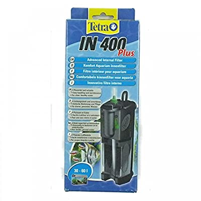 Tetra IN400 Plus Powerful Internal Filter for Physical, Biological and Chemical Aquarium Water Filtration