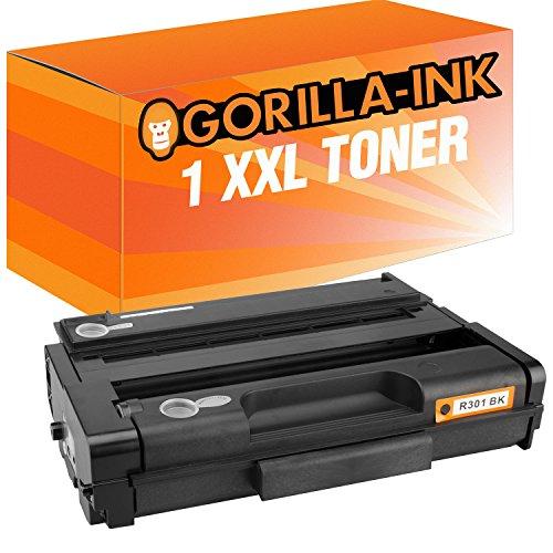 Gorilla-Ink 1x Laser-Toner XXL kompatibel mit Ricoh SP301 SP311 Schwarz Lanier MP 301 SPF Aficio MP 301 SPF MP 301 SP