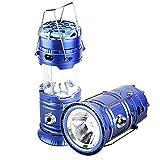 WOERD Linterna de camping luz solar con ventilador recargable LED linterna de camping portátil al aire libre tienda de emergencia para campamento al aire libre senderismo pesca lectura hurrican