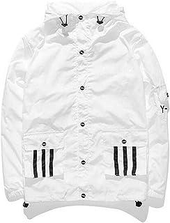 7f9d7f412fd Cazadora de la Moda con Capucha Streetwear Unisex para Hombre Mujer Niños  Niñas con Cremallera de
