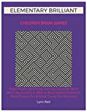 Elementary Brilliant Children Brain Games: Mega Puzzle Workbook Features Scramble Word With Easy Sudoku as Well as Word Search Academic Word Puzzles for Brilliant Young Pre Schoolers