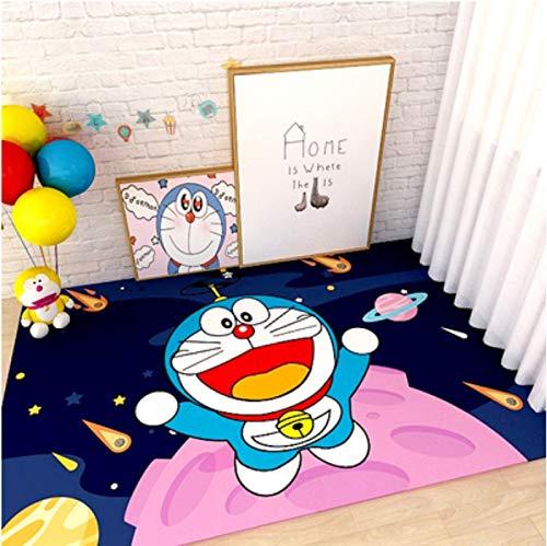Tappeto Lungo Camera Dei Bambini Doraemon Doraemon Tappetino Anime Cartoon Soggiorno Camera Da Letto Comodino Bagno Corridoio Antiscivolo Tappeto 80 * 200 Cm