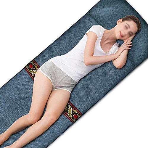 CCLLA Elektrische Heizmassage Rückenmassagegerät für Bettstuhl, Ganzkörpermassage Heißkompressionsmeersalz Grobes Salz Elektrische Heizung Moxibustion Wermut Physiotherapie Mat.-Nr.