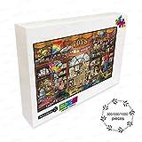 Vvision Toyland Rompecabezas de Madera 300 500 1000 Piezas Rompecabezas Dibujos Animados Educativo Juegos Desafío Único Regalo Juguete Moderno Decoración del hogar
