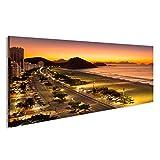 islandburner Bild Bilder auf Leinwand Copacabana Rio de
