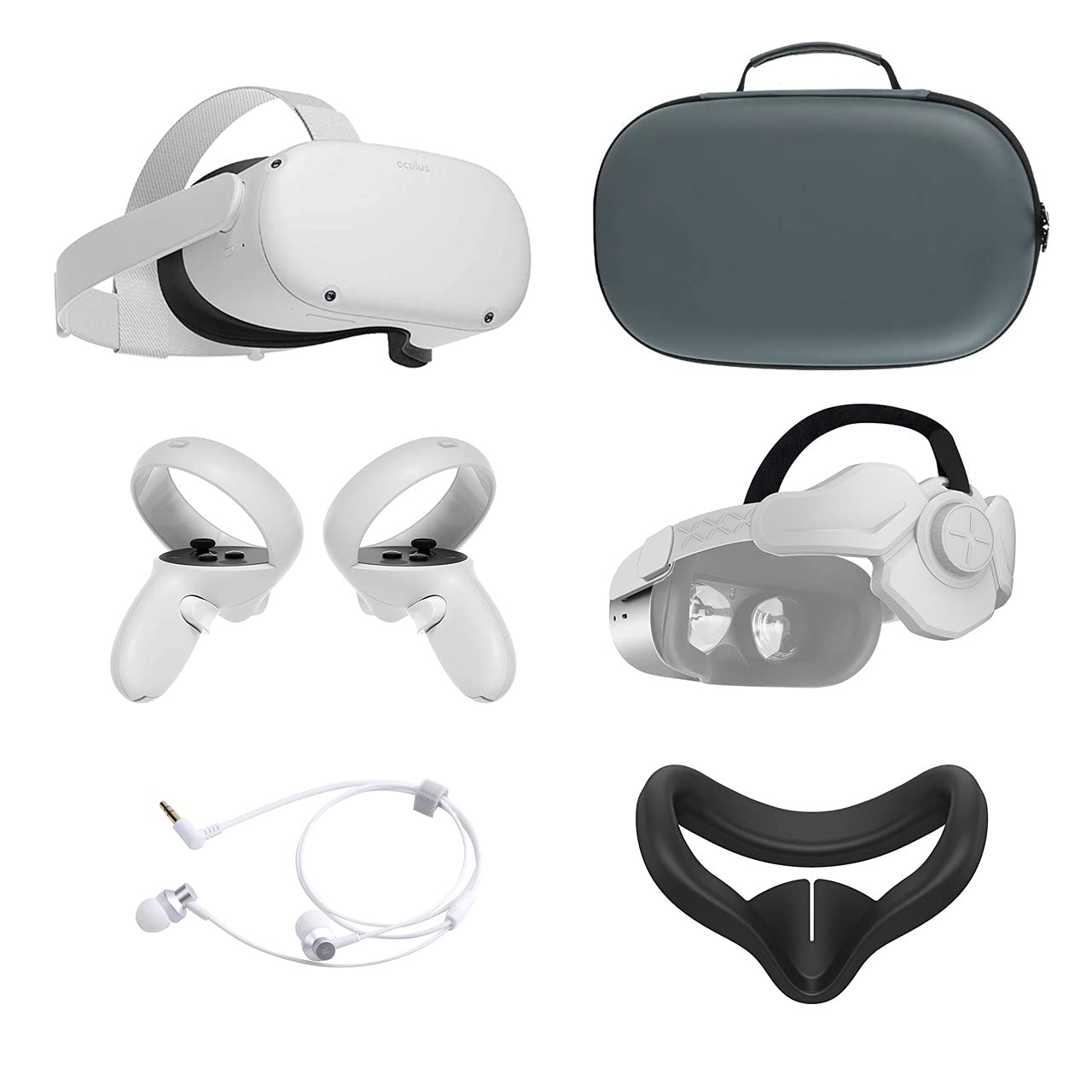 2021 Oculus Quest 2 All-In-One Controlle 128GB Headset VR All items free shipping Touch Challenge the lowest price