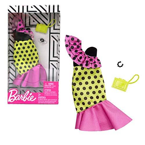 Barbie Vestido Samba Multicolor Mattel FXJ18 | Trend Fashion Doll Clothes
