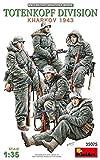 MiniArt 35075 Totenkopf Division (Kharkov 1943) Figuren, grau