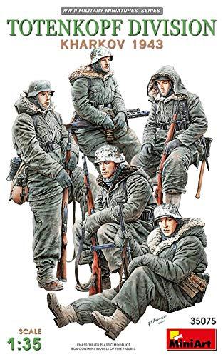 MiniArt MIN35075 35075 Totenkopf Division (Kharkov 1943) Figuren, grau