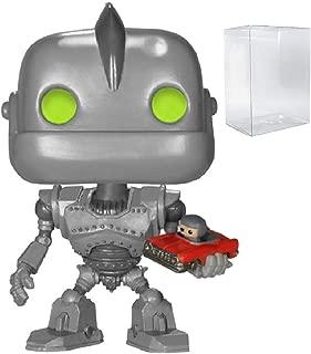 Funko Sci-Fi: Iron Giant with Car Pop! Vinyl Figure (Includes Compatible Pop Box Protector Case)