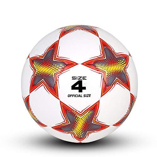 Ballon de Baloncesto Fútbol Balón De Fútbol Tamaño Oficial 4 Material Suave para Hombres Jóvenes Zona De Juegos Al Aire Libre Juegos De Interior Juegos De Recreación Deportes En Equipo
