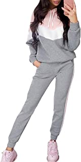Da Donna 2 PZ Tute Felpa con Cappuccio Jogging Set Sport mimetica camo taglie 6-30