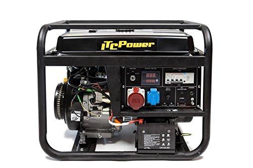 ITCPower IT-GG9000LE-3 Generador Gasolina Trifásico