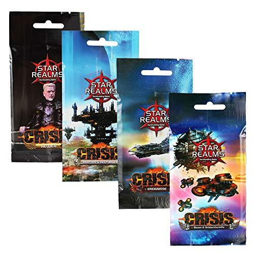 ADC Blackfire Entertainment Star Realms - Crisis Upgrade Kit - Vorteilspack (deutsch)
