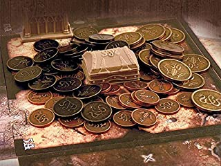 Sword & Sorcery Metal Coins Game Accessory
