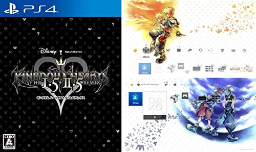 Square Enix Kingdom Hearts - HD 1.5 + 2.5 Remix - [Amazon.co.JP Limited] Original PS4 Theme for Delivery - PS4