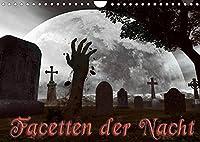Facetten der NachtCH-Version (Wandkalender 2022 DIN A4 quer): Wer die Schatten der Nacht durchstreift, kann die dunkle Seite anders sehen. (Monatskalender, 14 Seiten )