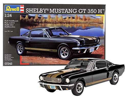 Revell Modellbausatz Auto 1:24 - Shelby Mustang GT 350 H im Maßstab 1:24, Level 4, originalgetreue Nachbildung mit vielen Details, 07242