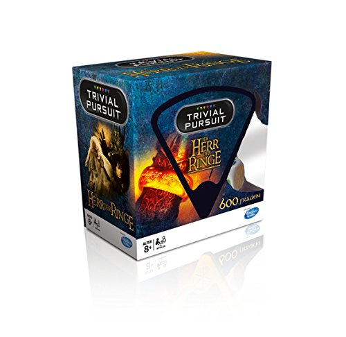 Trivial Pursuit Special Edition Quiz Games Lord of the Rings normale Edition Ohne Zusatzartikel
