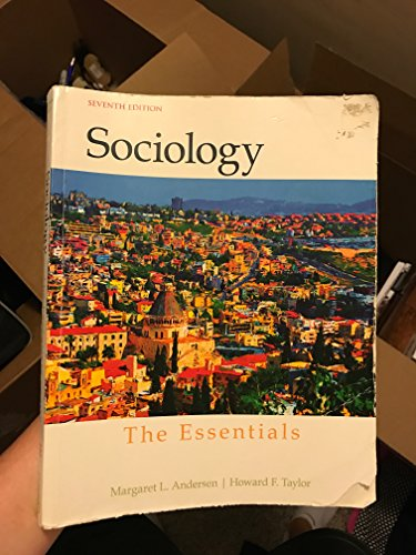 Sociology: The Essentials (7th Edition)