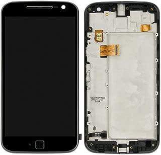 pour Motorola Moto G4 Plus XT1640 XT1641 XT1642 XT1643 XT1644 Écran LCD de Remplacement Écran Tactile Digitizer Assemblée Full Frame (en Option) Noir Without Frame