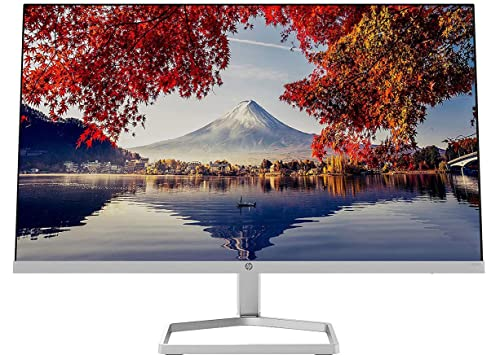 HP M24f – Monitor de 24' Full HD (1920 x 1080, 75Hz, 5ms, IPS LED, 16:9, ADM FreeSync, HDMI, VGA, Antirreflejo, Eye Ease, Inclinación Ajustable, Pasacables) Negro