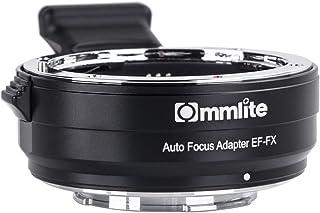 Commlite CM-EF-FX 電子オート フォーカス レンズのアダプター キヤノン タムロン シグマ EF/EF-S レンズ富士フイルム FX ミラーレス カメラに収まる富士フイルム X H1 X PRO2 X T100 X M1 × T1 T2 X X T3 X T10 X T20 X A5 x-e1 X-E2