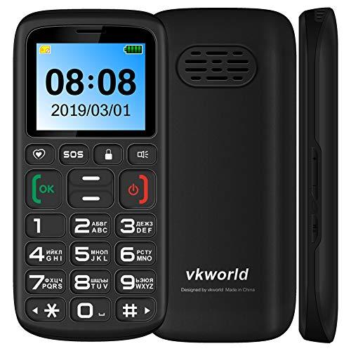 N/A Teléfono móvil Z3 Funciones del teléfono, Pantalla de 1.77 Pulgadas, batería de 1000mAh, SPREADTRUM SC6531, SOS, Bloqueo del Teclado, Dual SIM, FM, antorcha, Bluetooth, Teclado Ruso (Negro)