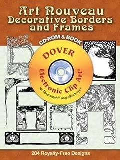Best art nouveau border clip art Reviews