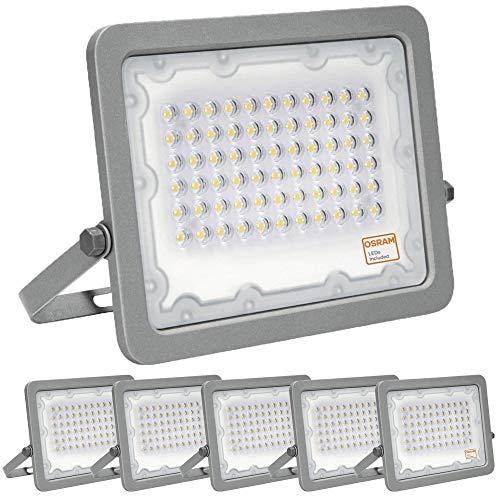 ¡OFERTA! Pack 5 unidades Foco LED OSRAM 50W Gris Slim,...