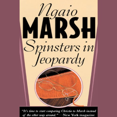 Spinsters in Jeopardy  cover art