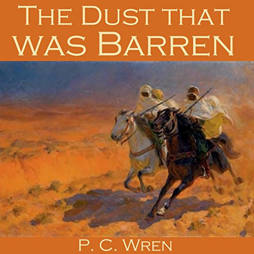 The Dust That Was Barren audiobook cover art