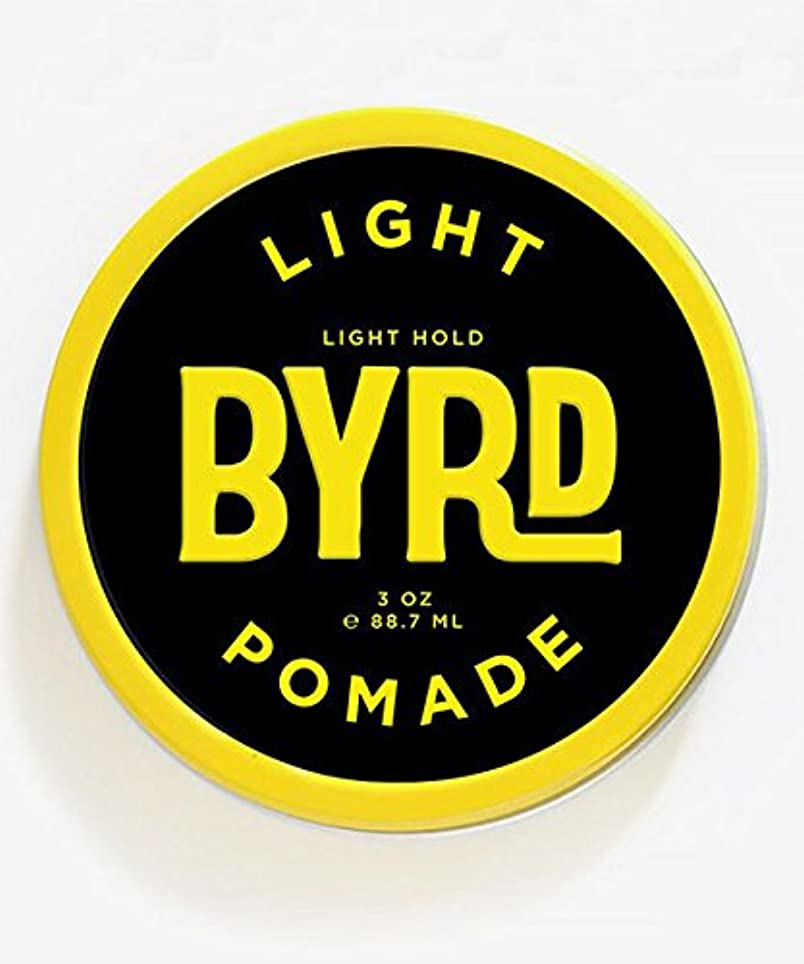 憎しみ成熟した容器BYRD(バード) ライトポマード 85g