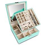Best Jewelry Boxes - Frebeauty Jewelry Organizer Box 2-Layer Jewelry Box Organizer Review