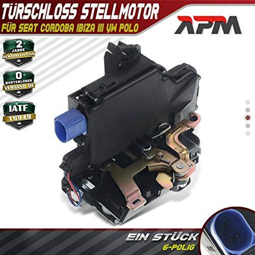 Türschloss Stellmotor Hinten Links für Cordoba 6L2 Ibiza III 6L1 Fabia I 6Y2 6Y5 6Y3 Polo 9N 9A4 9A2 9N2 2000-2019 5J0839015