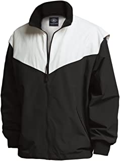 The Sportsman Collection Championship Nylon Tactel Jacket from Black/White