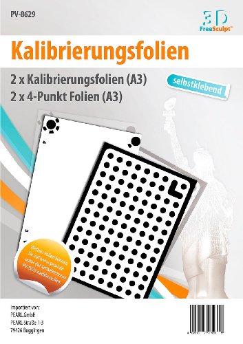 freesculpt accessori di stampante 3d: calibrazione software di pellicole, autoadesivo per Tris Catch, A3(stampante)