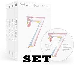 防弾少年団 - BTS MAP OF THE SOUL : 7 / 4アルバム +4 丸めてポスター(KSENDY 特典:4点)