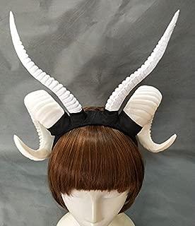 rams white horns