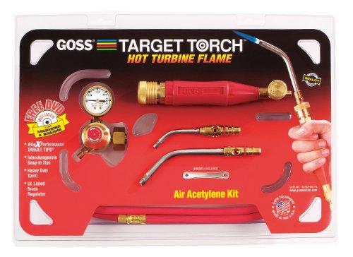 Goss KX-3B Soldering Brazing Torch Kit for