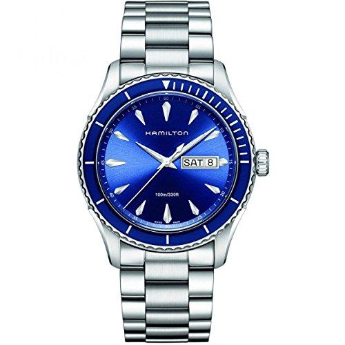 [ハミルトン] 腕時計 Jazzmaster Seaview Day Date(ジャズマスター シービュー デイデイト) H37551141 正規輸入品 シルバー
