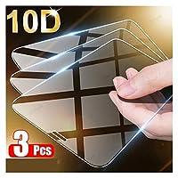 スクリーンプロテクター IPhone 11 12プロXSマックスX XRのフルカバースクリーンプロテクターiPhone 7 8 6プラスSE 2020保護ガラスとの互換性に対応3pcsの強化ガラス 強化フィルム (Color : For iPhone 7 Plus, サイズ : 3 Pieces)